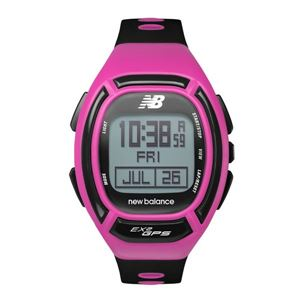new balance (ニューバランス) 腕時計 EX2-906-101 ピンク×ブラック - 拡大画像