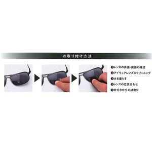 ハイドロタック 貼る リーディングレンズ 老眼鏡 度数+1.50 透明 Hydrotac +1.50
