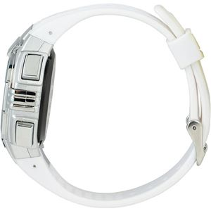 Time Piece(タイムピース) 腕時計 電波時計 ソーラー(デュアルパワー) デジタル ホワイト TPW-002WH