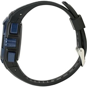 Time Piece(タイムピース) 腕時計 電波時計 ソーラー(デュアルパワー) デジタル ブルー TPW-002BL