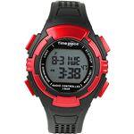 Time Piece(タイムピース) 腕時計 電波時計 ソーラー(デュアルパワー) デジタル レッド TPW-002RD