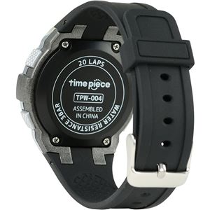 Time Piece(タイムピース) 腕時計 ランニングウォッチ 20LAP デジタル シルバー TPW-004SV