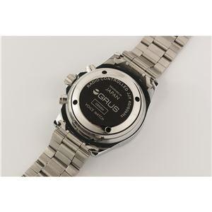 GRUS(グルス) 音声時計 ボイス電波ソーラー トーキングウォッチ GRS004-02