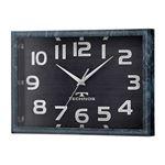 TECHNOS(テクノス) 電波時計 スクエア W-683 SFB ブラック