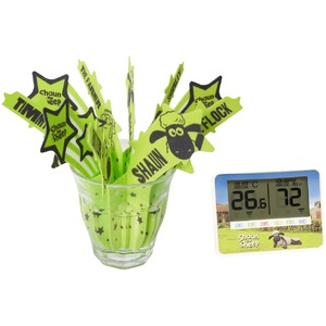 ひつじのショーン 温湿度計/うるおいモイスチャー加湿器 セット 商品画像