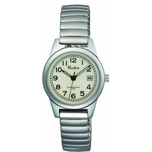 CROTON(クロトン)腕時計3針デイト10気圧防水伸縮バンドRT-140L-4