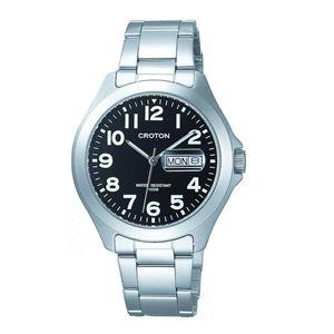 CROTON(クロトン)  腕時計 3針 デイデイト 10気圧防水 RT-144M-4