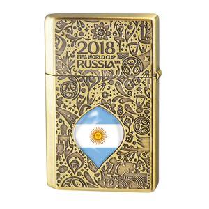 WC(ダブリューシー) フリントオイルライター ワールドカップ アルゼンチン 2018WC LTD-ARG