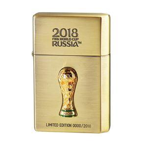WC(ダブリューシー) フリントオイルライター ワールドカップ ブラジル 2018WC LTD-BRA