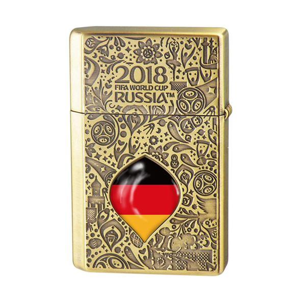 WC(ダブリューシー) フリントオイルライター ワールドカップ ドイツ 2018WC LTD-GER