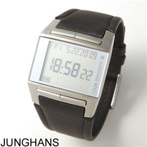 JUNGHANS(ユンハンス) 腕時計 MEGA1000 026/4510.00 シルバー×ブラック