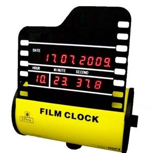 【大幅値下げ!】ジータッチ フィルムクロック イエロー RB-112