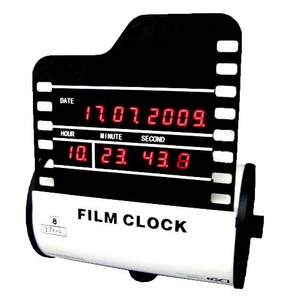 ジータッチ フィルムクロック ホワイト RB-112 - 拡大画像