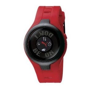 PUMA(プーマ) 腕時計 BLOCKBUSTER CIRCUIT(ブロックバスターサーキット) gents ブラック×レッド BBC3
