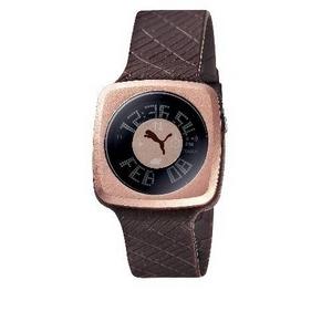 PUMA(プーマ) 腕時計 BLOCKBUSTER(ブロックバスター) ladies チョコ B10