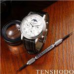 TENSHODO(テンショウドウ) メンズ GRAND COMPLICATION CLASSIC クロノグラフ クロコダイル