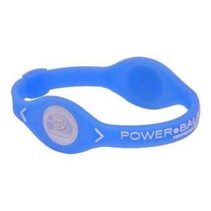 POWER BALANCE(パワーバランス) シリコンブレスレット ブルー Mサイズの写真1