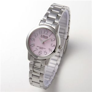 CITIZEN(シチズン)リリッシュ ソーラーブレスウォッチ(腕時計)H997-901 ピンク アラビア - 拡大画像