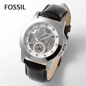 FOSSIL(フォッシル)ベルトウォッチ(腕時計)オートマスケルトンバック  ME3008 - 拡大画像