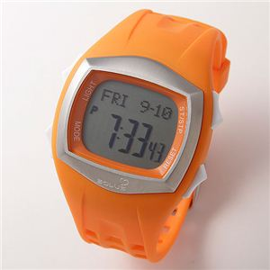 SOLUS(ソーラス) Pro 100 心拍計付き腕時計 オレンジ 【ランニングウォッチ】 - 拡大画像