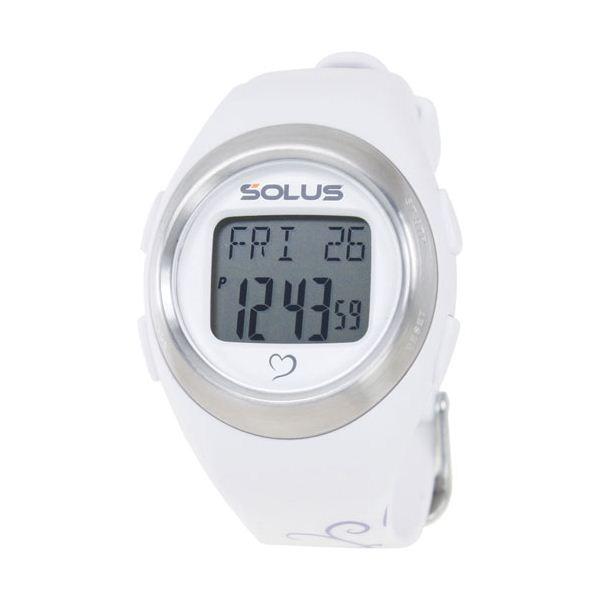 SOLUS(ソーラス) 800  心拍時計 パールホワイト(バタフライ) 【ランニングウォッチ】