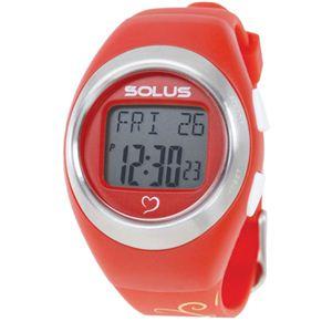 SOLUS(ソーラス) 800  心拍時計 レッド(バタフライ) 【ランニングウォッチ】 - 拡大画像