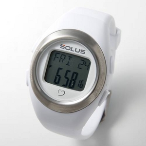 【SOLUS(ソーラス) 心拍計】ハートレートウォッチ 心拍計測 01-800-202/ホワイト