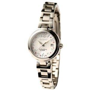 Forever(フォーエバー)  腕時計 デイト付き FL-1201-6 ホワイトシェル