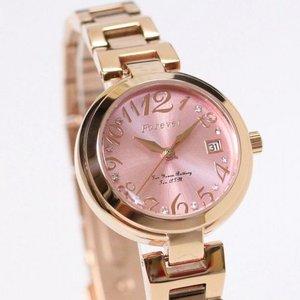 Forever(フォーエバー)  腕時計 デイト付き FL-1201-7 ピンク f04