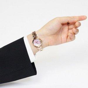 Forever(フォーエバー)  腕時計 デイト付き FL-1201-9 ピンクシェル h03