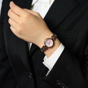 Forever(フォーエバー)  腕時計 デイト付き FL-1201-9 ピンクシェル f04