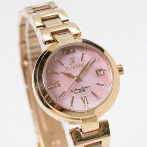 Forever(フォーエバー)  腕時計 デイト付き FL-1201-9 ピンクシェル f05