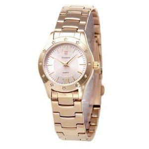 Forever(フォーエバー)  腕時計 1Pダイヤ FL-602-2 ピンク×ピンク
