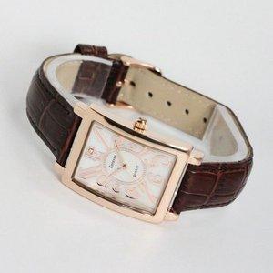 Forever(フォーエバー)  腕時計 1Pダイヤ FG-330PGWH ホワイト×ブラウン h02
