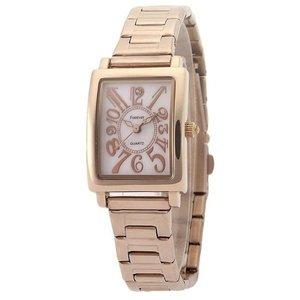 Forever(フォーエバー)  腕時計 1Pダイヤ FL-710-2 ホピンクシェル×ピンクゴールド