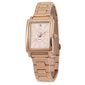 Forever(フォーエバー)  腕時計 1Pダイヤ FL-710-6 ホワイトシェル(ハート)×ピンクゴールド