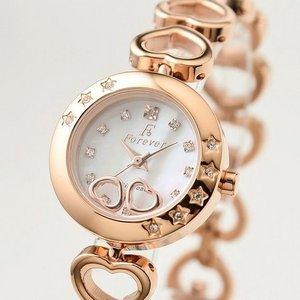 Forever(フォーエバー)  腕時計 1Pダイヤ FL-1207-1PG ホワイトシェル×ピンクゴールド h03