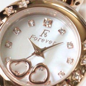 Forever(フォーエバー)  腕時計 1Pダイヤ FL-1207-1PG ホワイトシェル×ピンクゴールド f04