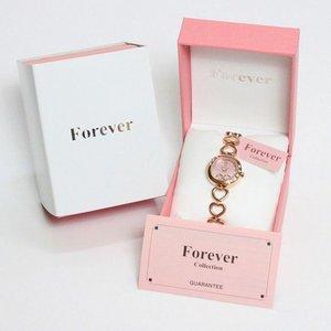 Forever(フォーエバー)  腕時計 1Pダイヤ FL-1207-2PG ピンクシェル×ピンクゴールド