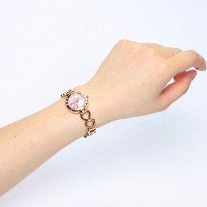 Forever(フォーエバー)  腕時計 1Pダイヤ FL-1207-2PG ピンクシェル×ピンクゴールド f04