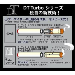 電子タバコ「DT ターボプレミアム ナノ」 スターターキット 本体セット 通販、販売