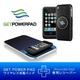 ワイヤレス充電器「GETPOWERPAD3(ゲットパワーパッド3)」 スターターキット iPhone3G(S)専用レシーバーセット(マットブラック)
