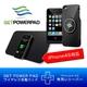 ワイヤレス充電器「GETPOWERPAD3(ゲットパワーパッド3)」 スターターキット iPhone4専用レシーバーセット(マットブラック)