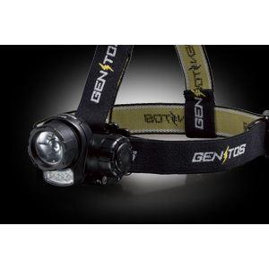 GENTOS(ジェントス) LEDライト LEDヘッドライト HLX-339 - 拡大画像