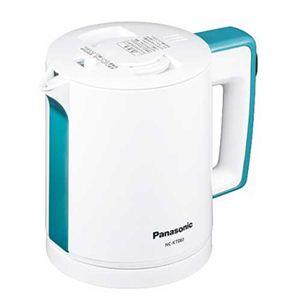 Panasonic(パナソニック) 0.6L 電気ケトル NC-KT061 ブルー - 拡大画像