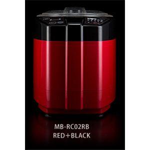 山本電気 MICHIBA KITCHEN PRODUCT 精米機 匠味米 MB-RC02RB レッド+ブラック - 拡大画像