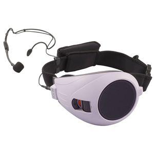 TOA(ティーオーエー) VOICE WALKER ハンズフリー拡声器 紫 ER-1000 - 拡大画像
