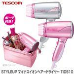 TESCOM(テスコム) STYLEUP マイナスイオンヘアードライヤー TID510 ピンク