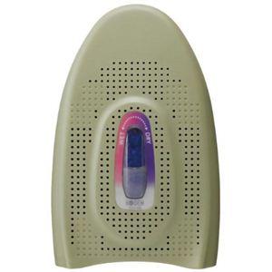 広電 リピート式脱臭乾燥器(ミニ除湿機) 乾爽キーパー マルチタイプ KGJ-106G グリーン - 拡大画像