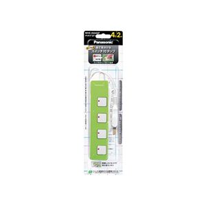 Panasonic(パナソニック)カラータップZグリーンWHS2524GP